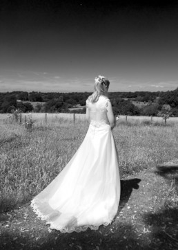 Wedding photography, Bride, country wedding, Kent