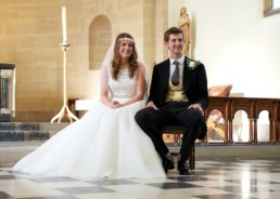 Wedding photography bride and groom ceremony London