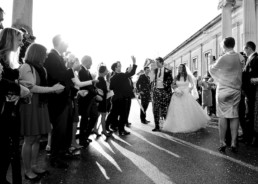 Wedding photography confetti London