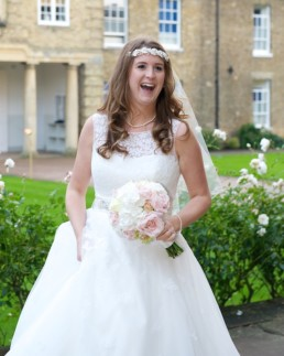 Wedding photography bride London