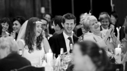 Wedding photography speeches laughter London