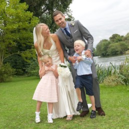 Wedding photography family Hampton Middlesex