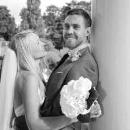 Wedding photography bride & groom Hampton Middlesex SW London