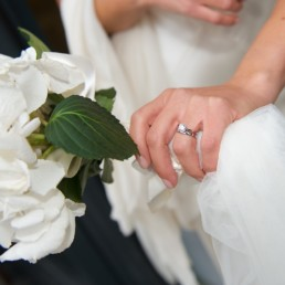 Wedding photograph rings flowers Hampton Middlesex