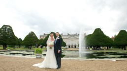 Wedding photography Hampton Court Palace Middlesex